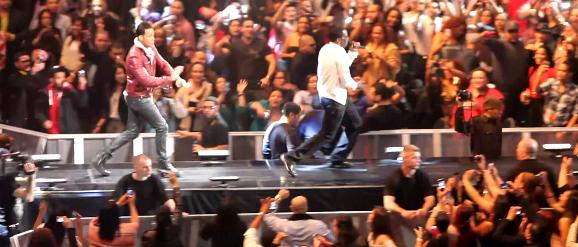 Diddy&Romeo Santos @ Madison Square Garden 2012