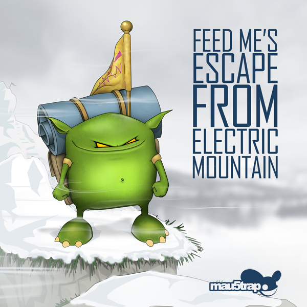 "Feed Me's New EP ""Escape From Electric Mountain"" Is Now On iTunes"