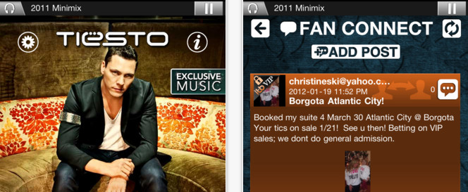 Tiësto Launches His Official iPhone/iPod Touch App