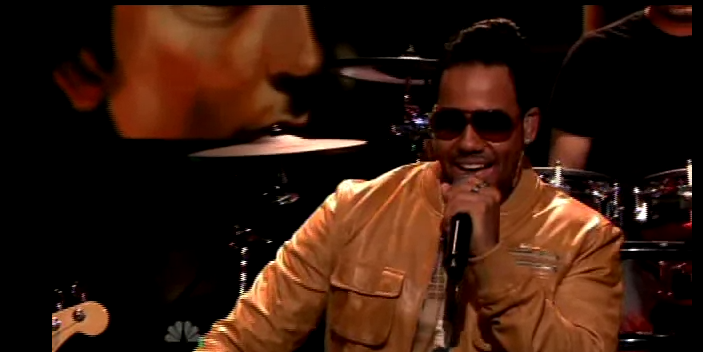 Romeo Santos At The Tonight Show with Jay Leno