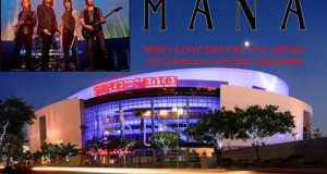 Maná Will Shatter The All-Time STAPLES Center Concert Record