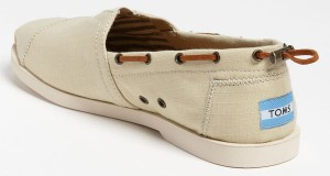 "New TOMS ""Nautical Bimini"" Boating Shoes"