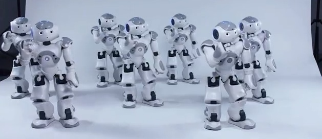 Cool Video- Synchronized Robots Dance to 'Thriller'