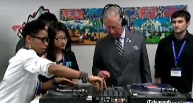 Video- Prince Charles DJ's in Canada During A Royal Tour