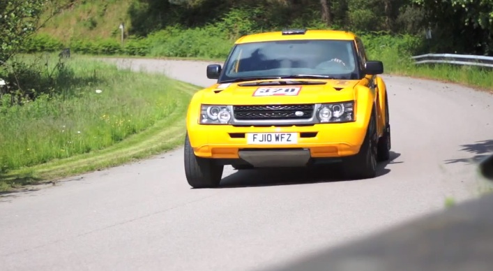 Cool Stuff- The Bowler & Land Rover EXR-S- An SUV with 550hp