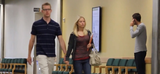 Funny Video- Holding People's Hand