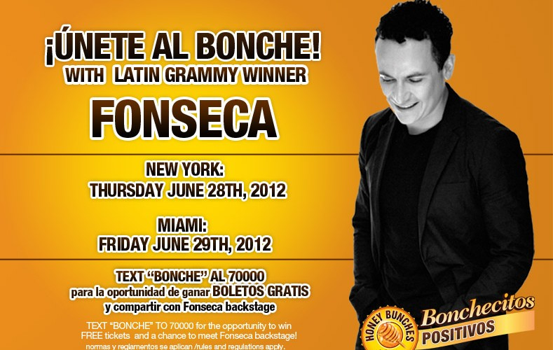 Win Tickets To See Fonseca LIVE in New York City (Presented By @HBOatsLatino)