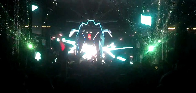 "Video: Skrillex Performing His New Single Birdy Nam Nam Remix ""Goin In"""