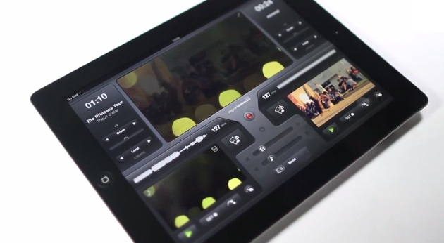 ntroducing vjay - The iPad Music Video Mixing App by Algoriddim