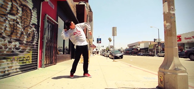 Cool Video- Two Dancers Break Dance To Skrillexs Bangarang