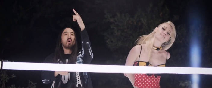 Steve Aoki & Angger Dimas Ft. Iggy Azalea - Beat Down Music Video