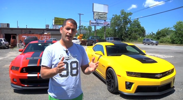 Video- Ford Shelby GT500 v Chevrolet Camaro ZL1- Street and Circuit