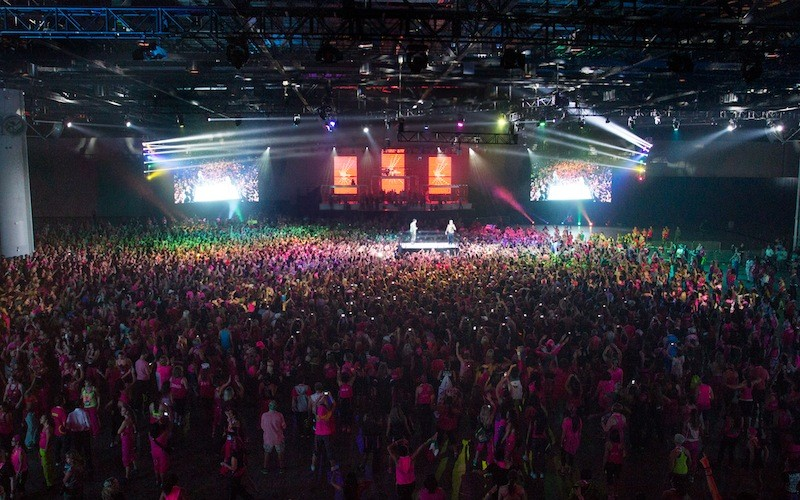 Daddy Yankee was a Musical Guest at 2012 Zumba Convention
