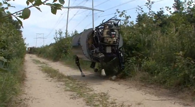 DARPA Legged Squad Support System (LS3) Drone