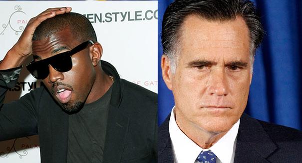 KanyeWest Mitt Romney