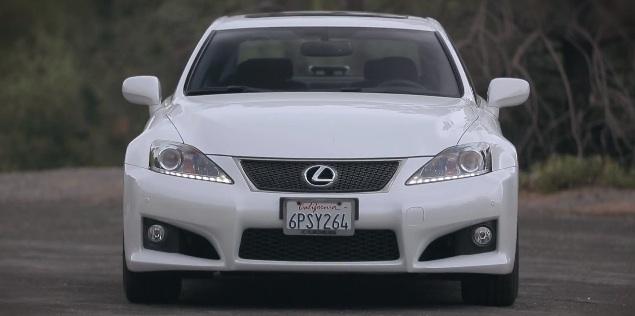 Video- 2012 Lexus IS F