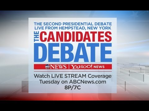LIVE: 2nd Presidential Debate Feed