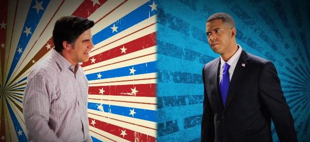 Barack Obama vs Mitt Romney Rap Battle