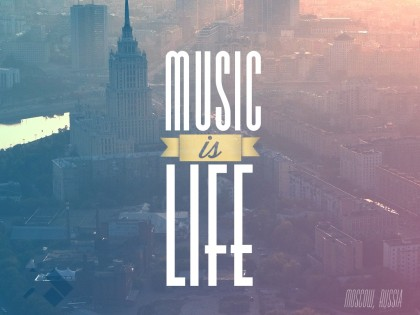 Corimag wallpaper of the week 2 music is life moscow russia corillo magazine - Music is life hd ...