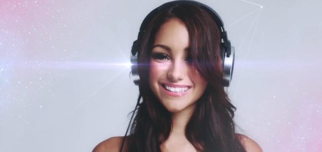 Tiesto Teams Up with Model Melanie Iglesias To Promote His New Headphones