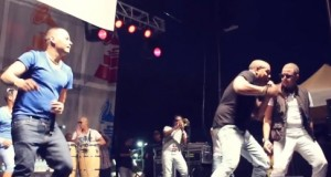 Video: Maffio @ XIII Latin Grammy Street Party (Miami, FL)