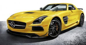 The 2014 Mercedes-Benz SLS AMG Black Series