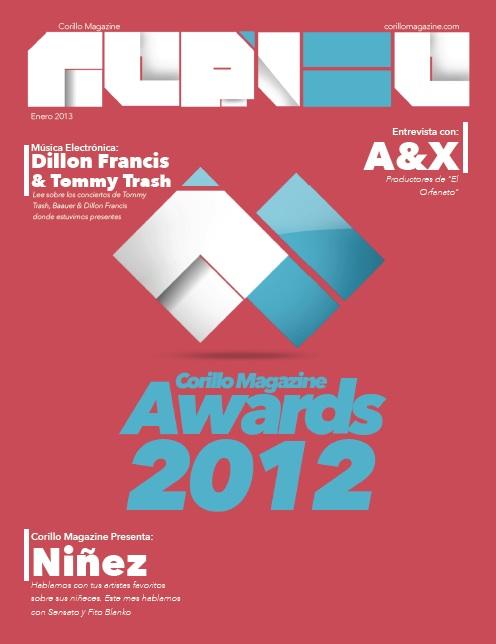 Corillo Magazine Cover January 2013