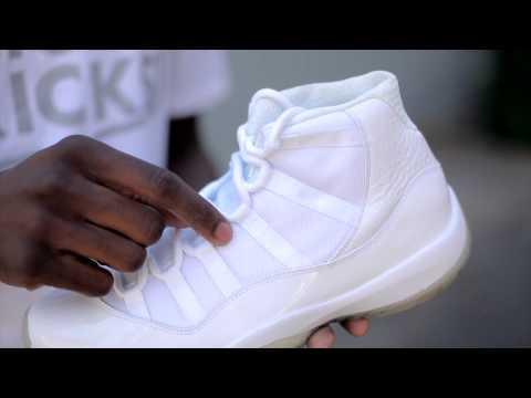 "A Look at the Air Jordan 11 ""Silver Anniversary"""
