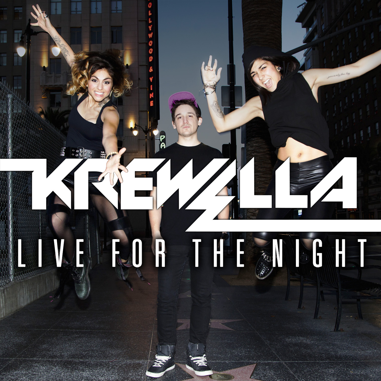 Krewella - Live For The Night Original mix cover