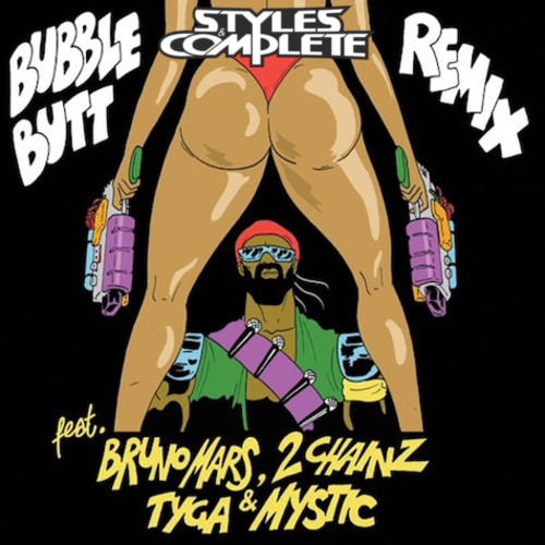 Major Lazer Bubble Butt Remix Styles Complete