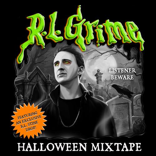 RL Grime Halloween Mixtape cover