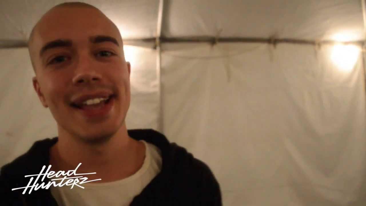 Interview: Headhunterz @ Washington, DC (2013)