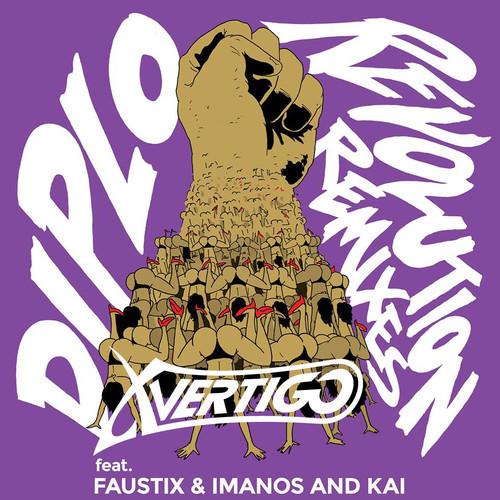 Diplo feat. Imanos, Faustix & Kai - Revolution (X-VERTIGO's Festival Remix)