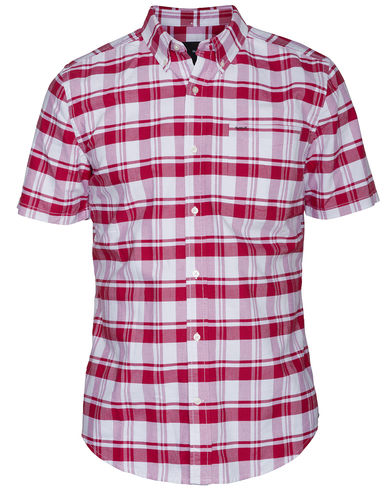 Flannel Oxford Short Sleeve Red Zedd