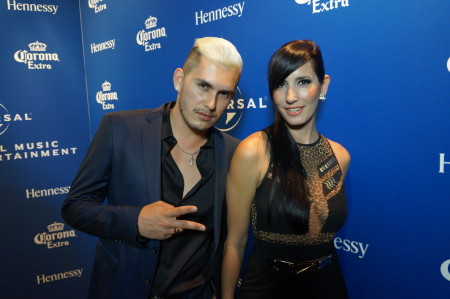 Universal Music Latin Billboards After Party Fire Ice