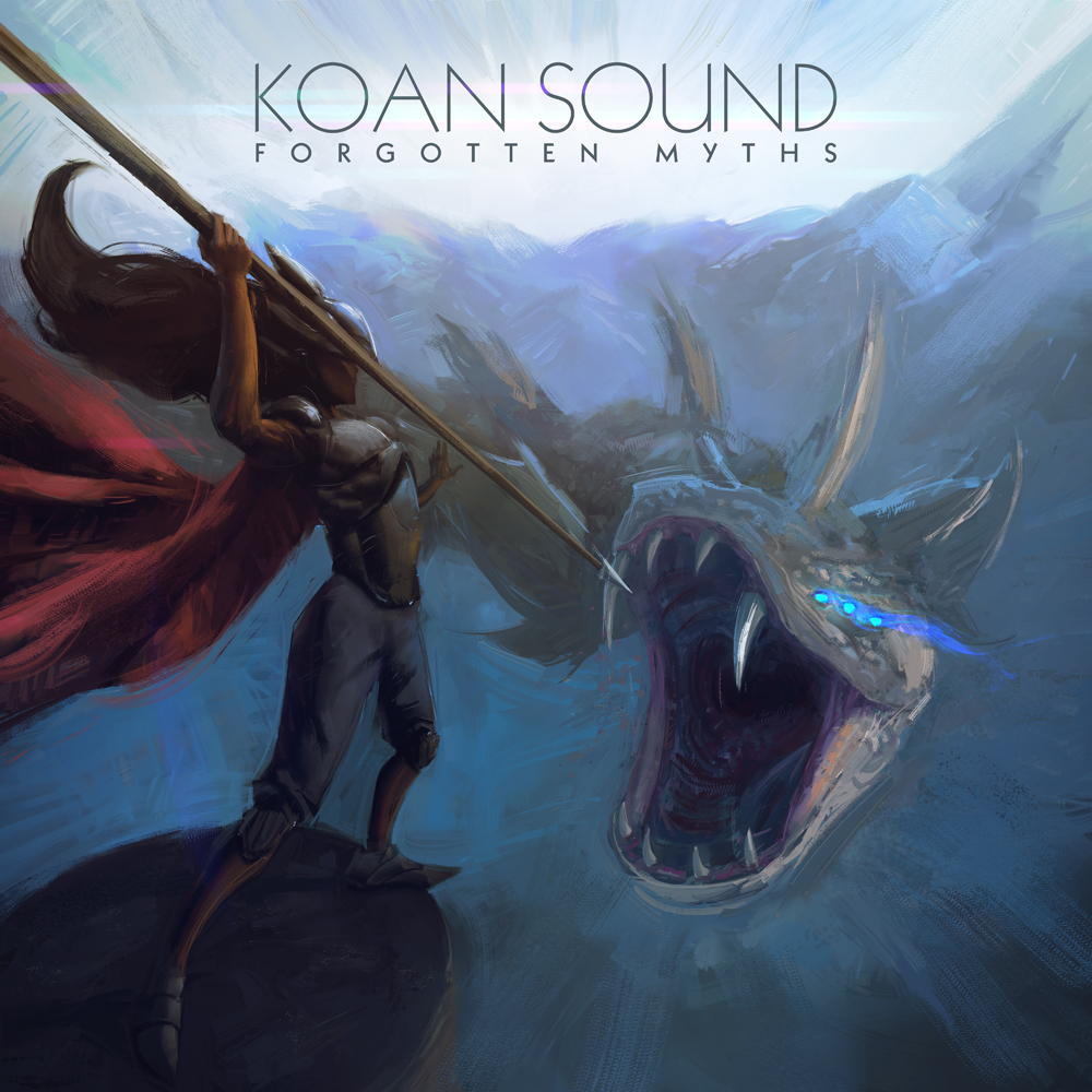 Koan Sound Forgotten Myths album cover